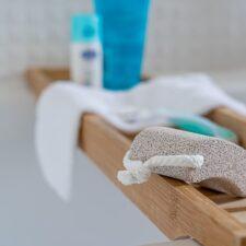 Exfoliación corporal en casa